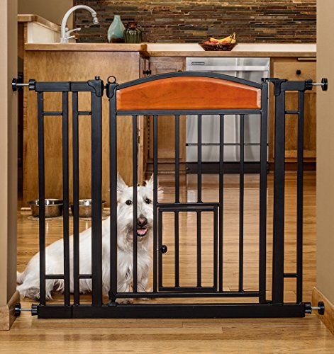 Pet Gate With Cat Opening Gatesandsteps