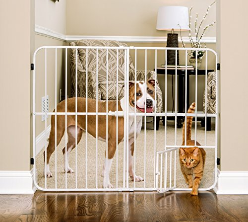 Pet Gate With Cat Opening Gatesandsteps Com